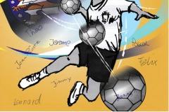 Urkunden vom Handball-Kreisfinale